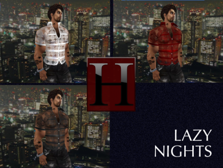 The Lazy Nights Lace Shirts - Color Pack 1