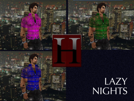 The Lazy Nights Lace Shirts - Color Pack 2