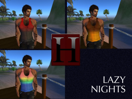 The Lazy Nights Tanks - Color Pack 1