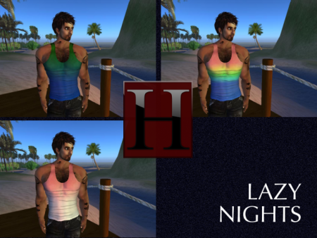 The Lazy Nights Tanks - Color Pack 2