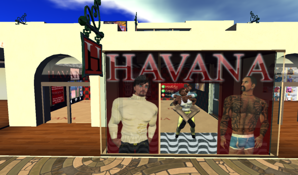 Havana at Gay World - outside