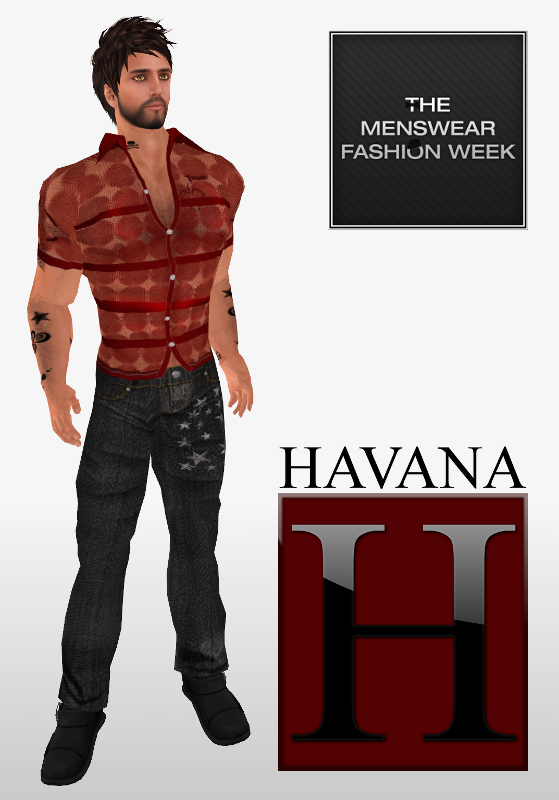 Havana at The Menswear Fashion Week 1