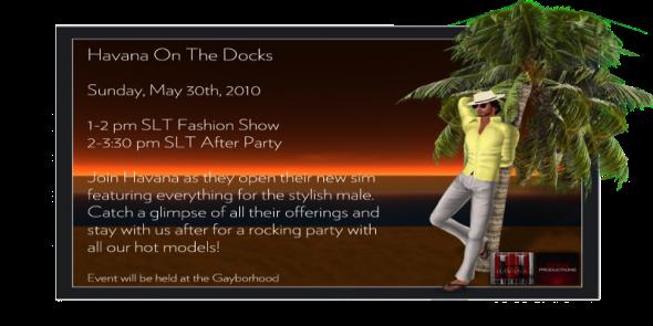 Havana Docks Invite
