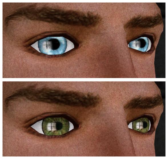 Blue Lights and Dark Green Eyes by Fleur Ferris