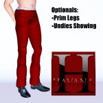 Andy Pants in red