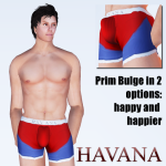 Andy Undies in red & blue