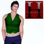Andy Vest in green