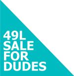 49 L Sale For Dudes Logo