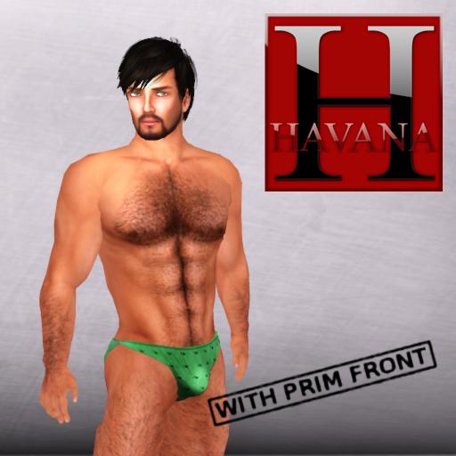 Hot Boy Bikini Green