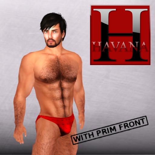 Hot Boy Bikini Red
